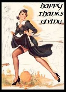 thanksgiving girl